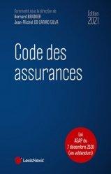 Dernières parutions sur Assurances, Code des assurances