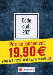 Dernières parutions sur Code civil, Code civil. Jaquette 1, Edition 2021