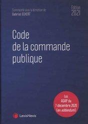 Dernières parutions dans Codes bleus, Code de la commande publique