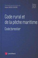 Nouvelle édition Code rural et de la pêche maritime