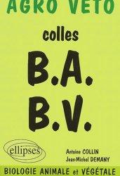 Dernières parutions sur Concours BCPST, Colles B.A. B.V.