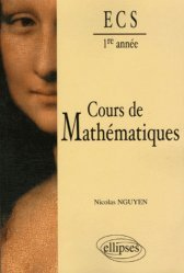 Cours de mathématiques ECS 1ère année