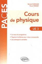 Souvent acheté avec Exercices et QCM de Physique, le Cours de physique UE 3