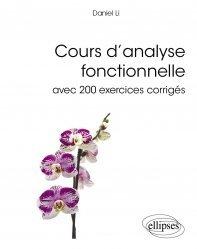 Souvent acheté avec Géométrie différentielle avec 80 figures, le Cours d'analyse fonctionnelle avec 200 exercices corrigés