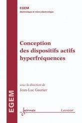 Dernières parutions dans EGEM, Conception des dispositifs actifs hyperfréquences