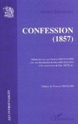 Dernières parutions dans Les Introuvables, Confession (1857)