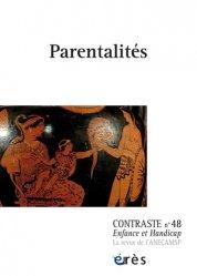 Dernières parutions dans Contraste, Contraste N° 48 - Parentalités
