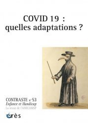 Dernières parutions sur Psychologie du handicap, Covid 19