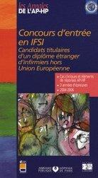Souvent acheté avec Dictionnaire des soins infirmiers et de la profession infirmière, le Concours d'entrée en IFSI