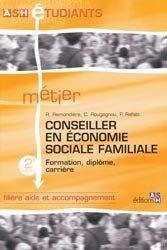 Dernières parutions dans ASH étudiants, Conseiller en économie sociale familiale