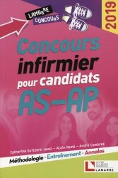 Dernières parutions dans Lamarre concours, Concours infirmier pour candidats AS-AP 2019
