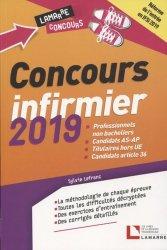 Dernières parutions dans Lamarre concours, Concours infirmier 2019