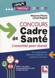 Dernières parutions dans Lamarre concours, Concours cadre de santé 2020-2021