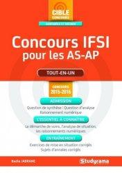 Souvent acheté avec IFSI - Tout en un - Spécial AS-AP, le Concours IFSI pour les AS-AP