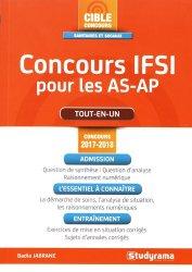 Concours IFSI pour les AS-AP -  Concours 2017-2018