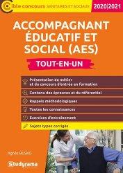 Dernières parutions sur Paramédical, Concours d'entrée en formation AES Accompagnant Educatif et Social. Edition 2020-2021