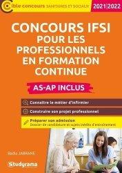 Dernières parutions sur Paramédical, Concours IFSI pour les professionnels en formation continue (AS-AP inclus)