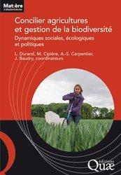 Dernières parutions dans Matière à débattre & décider, Concilier agricultures et gestion de la biodiversité