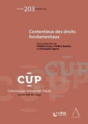 Dernières parutions dans Commission Université-Palais, Contentieux des droits fondamentaux