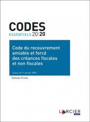 Dernières parutions sur Droit des obligations, Code du recouvrement amiable et forcé des créances fiscales et non fiscales