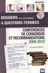 Souvent acheté avec Dernier Tour, le Conférences de consensus et recommandations 2009-2010