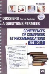 Souvent acheté avec SOS ECN !, le Conférences de consensus et recommandations 2011 - 2012