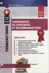Dernières parutions sur Conférences de consensus, Conférences de consensus et recommandations