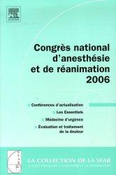 Dernières parutions dans SFAR, Congrès national d'anesthésie et de réanimation 2006