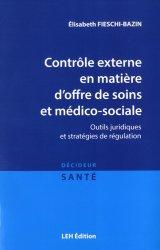 Dernières parutions dans Décideur santé, Contrôle externe en matière d'offre de soins et médico-sociale