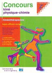 Dernières parutions dans Concours, Concours kiné physique-chimie