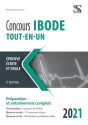 Dernières parutions sur Infirmières, Concours IBODE 2021 Tout en un
