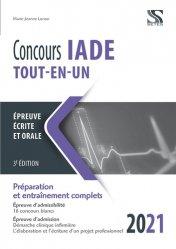 Dernières parutions sur Infirmières, Concours IADE tout-en-un 2021-2022