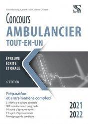 Dernières parutions sur Paramédical, Concours ambulancier. Tout-en-un 2021-2022, Edition 2021