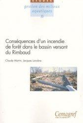 Dernières parutions dans Les Études, Conséquences d'un incendie de forêt dans le bassin versant du Rimbaud