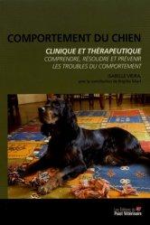 Dernières parutions sur Psychologie animale, Comportement du chien - Clinique et thérapeutique