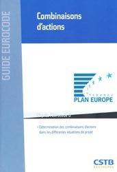 Dernières parutions dans Guide Eurocode, Combinaisons d'actions