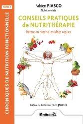 Conseils pratiques de nutrithérapie