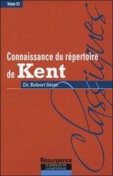 Dernières parutions dans Résurgence, Connaissance du répertoire de KENT