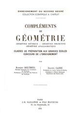 Dernières parutions sur Dictionnaires et cours fondamentaux, Compléments de géométrie