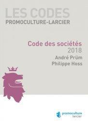 Dernières parutions sur Droit des sociétés, Code des sociétés