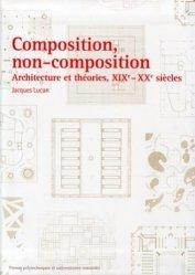 Dernières parutions dans Architecture Essais, Composition, non-composition