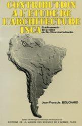 Dernières parutions sur Patrimoine antique 3500 av.JC - 500 ap.JC, Contribution à l'étude de l'architecture inca