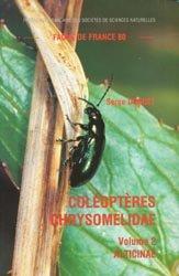 Dernières parutions dans Faune de France, Coléoptères chrysomelidae Volume 2