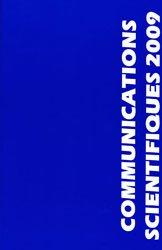 Souvent acheté avec Atlas de poche d'anesthésie, le Communications scientifiques 2009