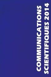 Communications scientifiques 2014