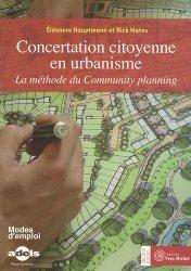Dernières parutions dans Société civile, Concertation citoyenne en urbanisme. La méthode du Community planning