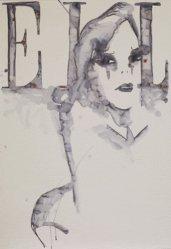 Dernières parutions dans Les Cahiers, Cover Girl. Avec lithographie de Rebecca Bournigault, Edition limitée