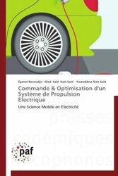 Dernières parutions sur Electricité - Electrotechnique, Commande & optimisation d'un système de propulsion électrique