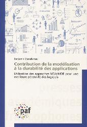 Dernières parutions sur Gestion de projets, Contribution de la modélisation à la durabilité des applications