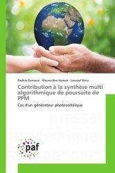 Dernières parutions sur Electricité, Contribution à la synthèse multi algorithmique de poursuite de PPM